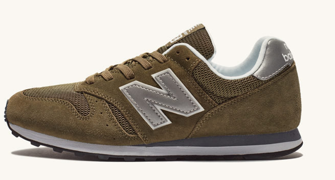 new balance 373 olive silver