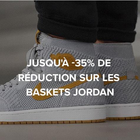 Jusqu'à -35% de réduction sur les baskets Jordan