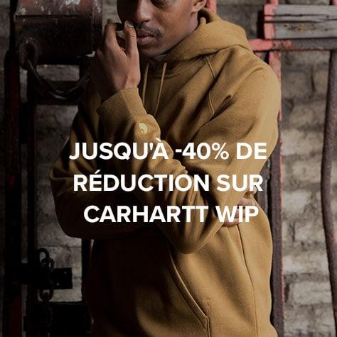 Jusqu'à -40% de réduction sur Carhartt WIP