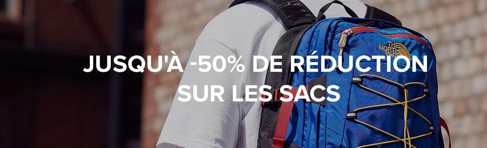 Jusqu'à -50% de réduction sur les sacs