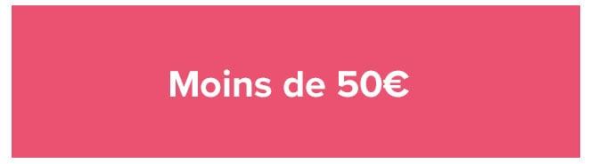 Moins de 50€