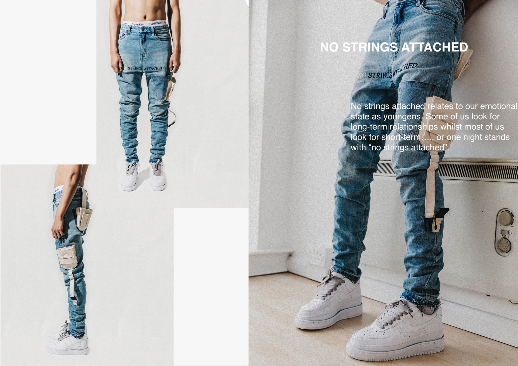 no strings attached denim