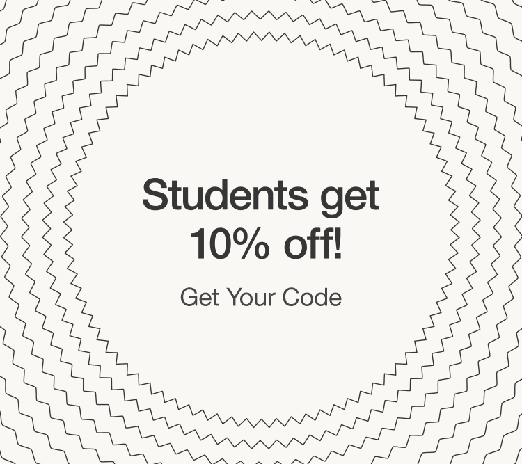 Students get 10% off!
