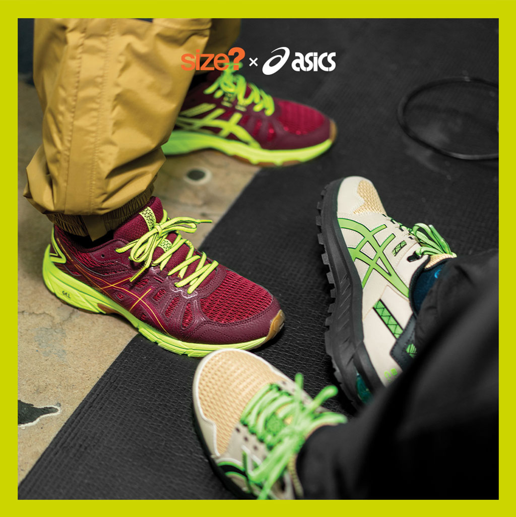 ASICS Trail 'Base Camp & Mission' - Esclusiva size?